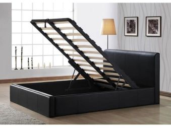 Time Living Frankfurt Ottoman Storage Bed