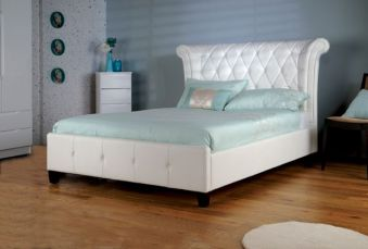 Limelight Epsilon Faux Leather Bed Frame