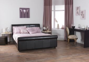 Serene Farringdon Leather Bed Frame