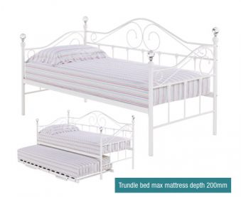 LPD Florence Metal Day Bed
