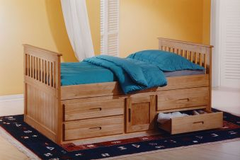 Amani International Captains Storage Bed