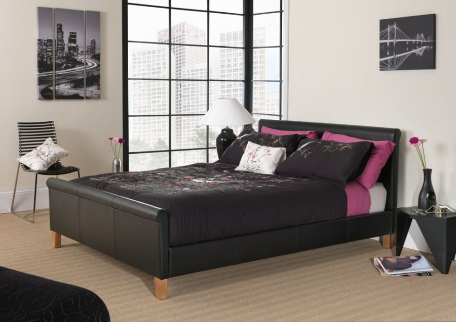 leather beds