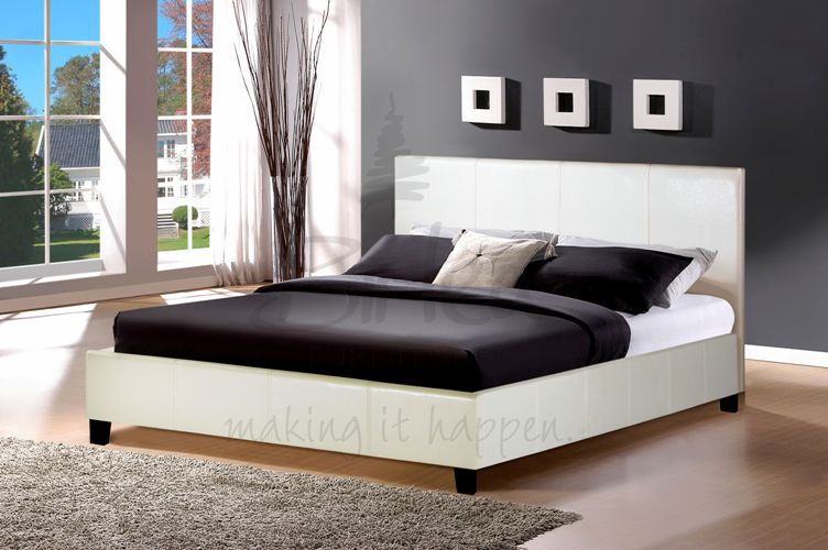 Leather Beds Birlea Berlin Faux Leather Bed Frame Timeless Beds