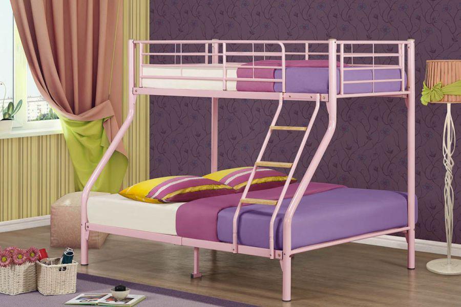 bunk beds birlea nexus three sleeper metal bunk bed timeless beds. Black Bedroom Furniture Sets. Home Design Ideas
