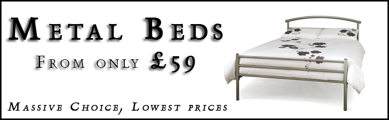 Metal Beds From Only £59